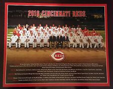 2016 Cincinnati Reds 8x10 Team Picture, MLB baseball, Stadium Giveaway, Ohio