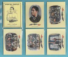 BOXING - SPORTING PROFILES - SET OF 11 BOXING CARDS  -  JOHN L. SULLIVAN - 1997