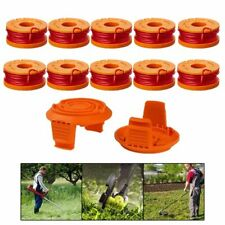 12PCS WORX WA0010 Replacement Spool Line For Grass Trimmer/Edger,10ft USA