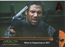 Arrow Season 2 Red Foil Parallel Mirakuru Chase Card U1 What Is Happening to Me?