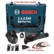 Bosch GOP10.8V-LI 10.8V Cordless Cutter L-Boxx 8 Extras 060185807E 3165140822060