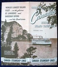 CANADA STEAMSHIP LINES -- 1946 Brochure