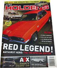 Just Holdens Iss 7 Brock 01 Restoration HDT Calais Director FE Torana & more