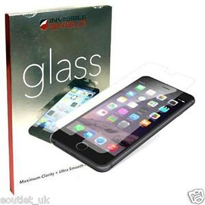 """GENUINE ZAGG INVISIBLESHIELD GLASS SCREEN PROTECTOR FOR APPLE IPHONE 6 & 6s 4.7"""""""