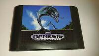Genuine Ecco The Dolphin Sega Genesis Game Cart 670-2200 *NTSC-U*