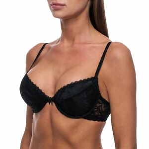 Sexy Push Up Bra, T-Shirt Bra, Lace, Half Cup, Padded, Underwired Bras for Women