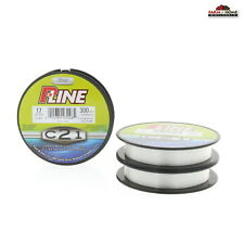 (3) P-Line C21 Copolymer Fishing Line 17lb 300yds Clear~ New