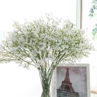 Artificial Fake Silk Bouquet Gypsophila Baby's Breath Flower Wedding Home Decor
