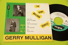GERRY MULLIGAN QUARTET EP CONCERT PARIS ORIG ITALIE '50 EX TOP JAZZ