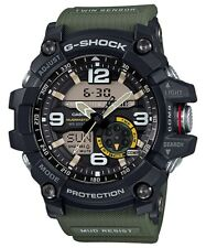 CASIO G SHOCK TWIN SENSOR MUDMASTER GG-1000-1A3 GG-1000-1A3DR ARMY GREEN RRP$599