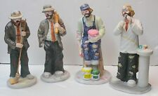 The Emmett Kelly Jr. Collection > Flambro > Set Of Four(4) Collectibles