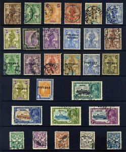 MALTA PRE 1936 : 29 STAMPS MOUNTED MINT Or USED WITH 1935 SILVER JUBILEE SET