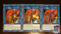 x3 YuGiOh! Magical Musketeer Max BLHR-EN052 Ultra Rare 1st Edition NM
