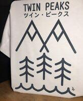 Twin Peaks Japanese T-Shirt - David Lynch Inspired by Minimalist Japanese Art
