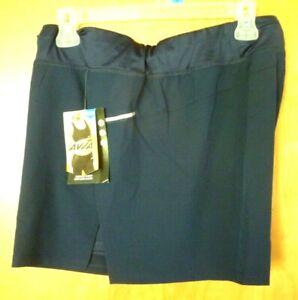 New Women's Blue size 3X XXXL (22) Avia Running Shorts with Bike Shorts