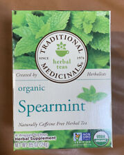 Traditional Medicinals Herbal Teas, Organic Spearmint - 16 Tea Bags Exp. 6/2022
