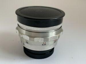 Rare Carl Zeiss Jena Tessar 40mm f4.5 lens s.no.4578306 Exakta Mount.