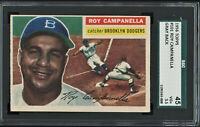 1956 Topps Roy Campanella Gray Back #101 SGC 3.5 VG+ Awesome Color Dodgers HOF
