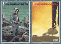 THE WALKING DEAD 192 & 193 (1st PRINT) SET OF 2 DEATH OF RICK GRIMES 2019 NM- NM