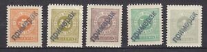 Montenegro - 1902 - Michel porto 9/13 - MNH - probe