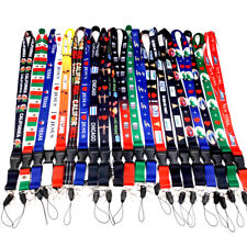 Lanyard Necklace KeyChain Strap Card Badge Cellphone Camera Mexico ID Holder