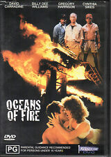 OCEANS OF FIRE - DVD R4 David Carradine Billy Dee Williams - VERY GOOD FREE POST