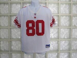 REEBOK NFL PLAYERS NY GIANTS JEREMY SHOCKEY #80 REPLICA JERSEY SEWN SZ YOUTH XLG
