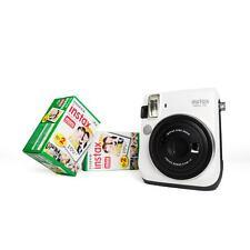 Fuji Instax Mini 70 weiß Sofortbildkamera Instant mit 2 DP Film Sofortbild