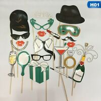 Multi Design Photo Booth Props Frame Wedding Hen Party Selfie Funny Photography