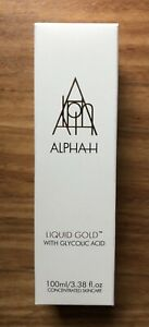 alpha h liquid gold 100ml (in sealed box)