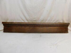 1910 Antique Wooden DOOR PEDIMENT Lintel Header CRAFTSMAN Style Oak ORNATE
