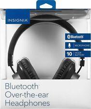 INSIGNIA Wireless Headphones Over-the-ear Adjustable Headband NEW OPEN BOX