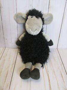 "Jellycat London Tiggalope Black Sheep Lamb Plush Stuffed Animal 9"" Retired"
