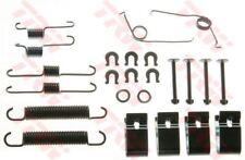 SFK204 TRW Kit di accessori, scarpe del Freno Asse Posteriore