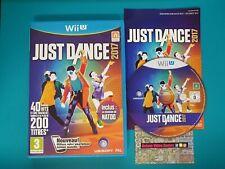 NINTENDO WiiU : just dance 2017 - wii u