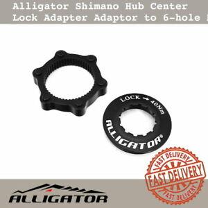 Alligator Shimano Hub Center Lock Adapter Adaptor to 6-hole Disc Rotor