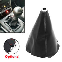 Universal PU Leather Car Manual Gear Stick Shift Knob Cover Boot Gaiter