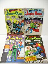Silver Age Jimmy Olsen Lot #80, 82, 86, 121 - DC Comics 1964-69
