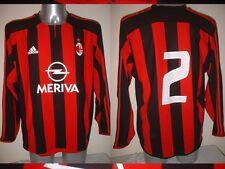 AC MIlan Adidas Player Match Spec Adult Large Shirt Jersey Football Soccer CAFU