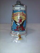 """Vintage 1996 Anheuser Busch Membership Stein """"World's Largest Brewer"""" Stein Cb3"""