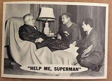 SUPERMAN 1966 TOPPS FIGURINA #54 NM CONDIZIONE DC COMICS LIBRO Help Me