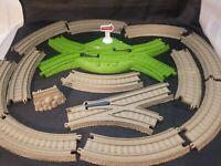 Mixed Lot of 14 Mattel Gullane Thomas the Tank Engine Knapford plastic track Pcs