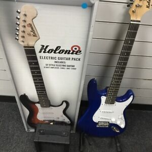 Blue Kolonie electric guitar