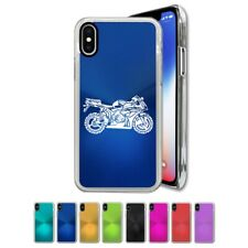 Case Compatible with iPhone X, Xs, XR, Xs Max - Sport Bike