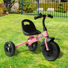 Homcom Baby Kids Children Toddler Tricycle Ride on Trike 3 Wheels Pink