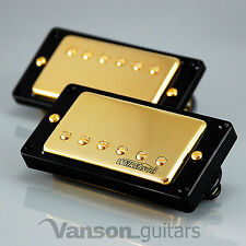NEW Wilkinson 'HOT' GOLD Humbucker Pickup SET for Gibson, Epiphone ®* MWCHB BK