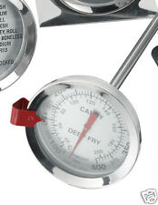 "JUDGE Deep Fry/Sugar/Jam/Preserving/Home Brew Thermometer 12"" 30cm Long Probe."