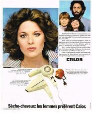 PUBLICITE   1974    CALOR   séche-cheveux