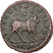 JULIAN II  APOSTATE Philosopher Big TAURUS Bull Astrological Roman Coin  i23629