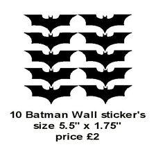 10 Batman Wall sticker's